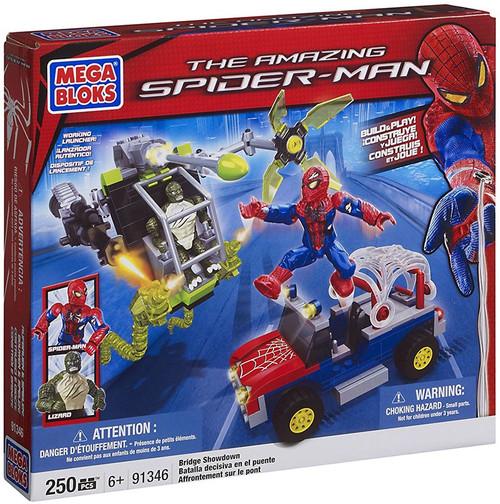 Mega Bloks Amazing Spider-Man Bridge Showdown Set #91346