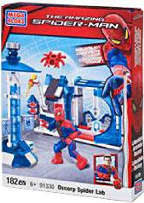 Mega Bloks Amazing Spider-Man Oscorp Spider Lab Set #91330