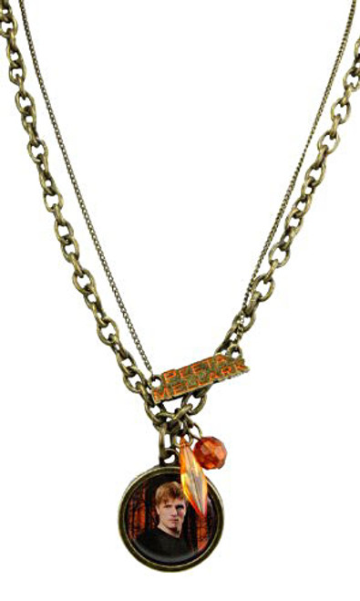 NECA The Hunger Games Peta Mallark Double Chain Necklace