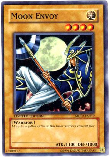 YuGiOh McDonald's Limited Edition Series 2 Common Moon Envoy MDP2-EN019