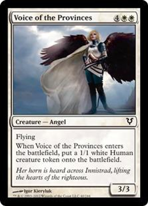 MtG Avacyn Restored Common Voice of the Provinces #40