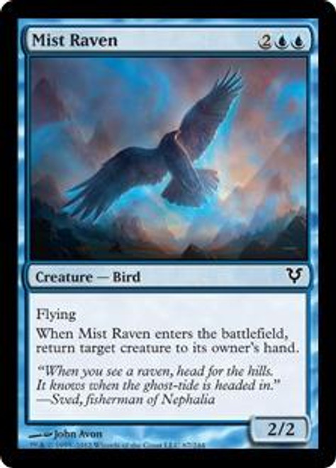 MtG Avacyn Restored Common Mist Raven #67
