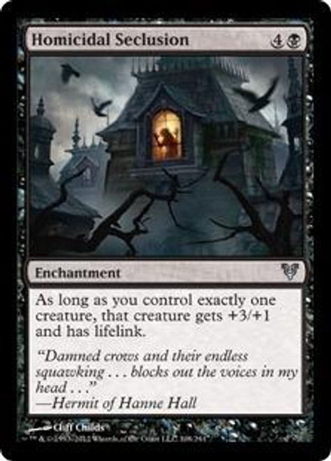 MtG Avacyn Restored Uncommon Homicidal Seclusion #108