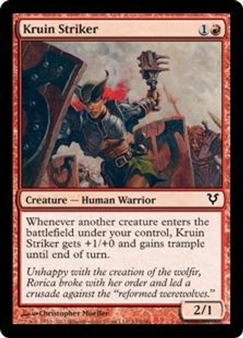 MtG Avacyn Restored Common Kruin Striker #143