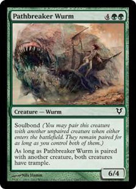 MtG Avacyn Restored Common Pathbreaker Wurm #188