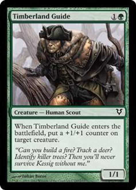 MtG Avacyn Restored Common Timberland Guide #197