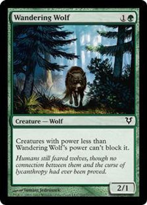 MtG Avacyn Restored Common Wandering Wolf #202