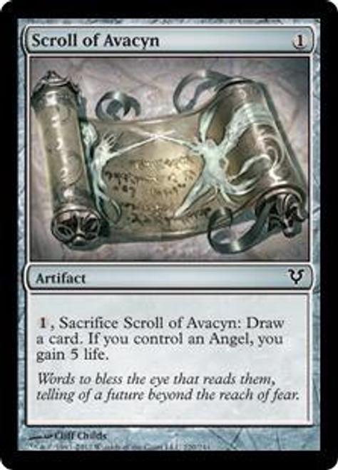 MtG Avacyn Restored Common Scroll of Avacyn #220