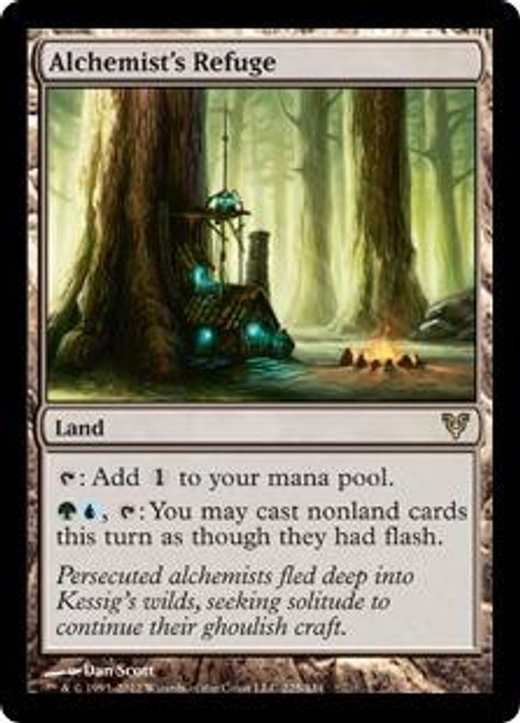 MtG Avacyn Restored Rare Alchemist's Refuge #225