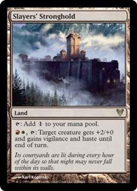 MtG Avacyn Restored Rare Slayers' Stronghold #229