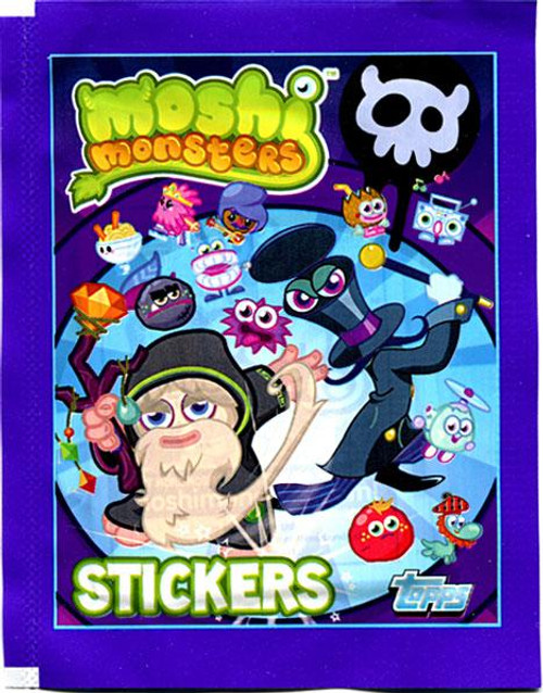 Moshi Monsters Series 2 Sticker Pack [Purple]