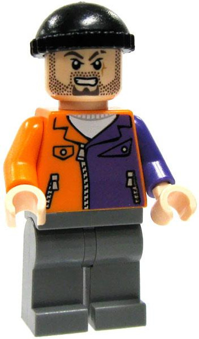 LEGO Batman Loose Two-Face Henchman Minifigure [Stubble Loose]