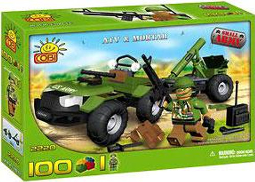 COBI Blocks Small Army ATV & Mortar Set #2220