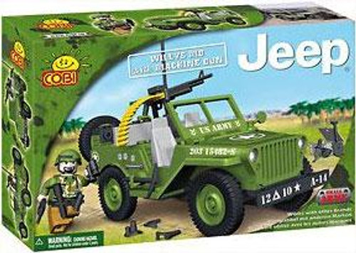 COBI Blocks Jeep Willy's MB with Machine Gun Set #24112