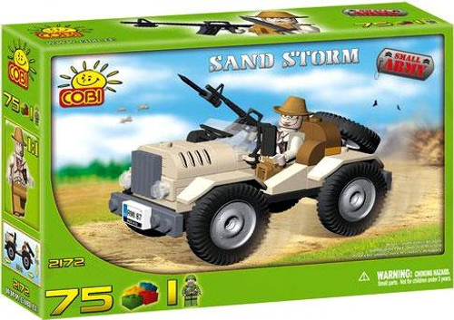 COBI Blocks Small Army Sand Storm Set #2172