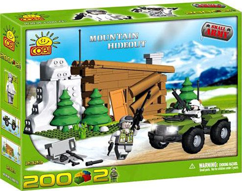 COBI Blocks Small Army Mountain Hideout Set #2323