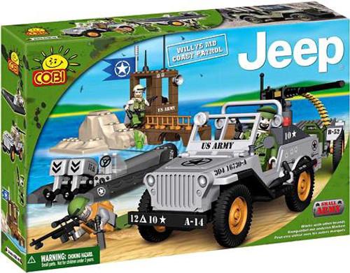 COBI Blocks Jeep Willys MB Coast Patrol Set #24251