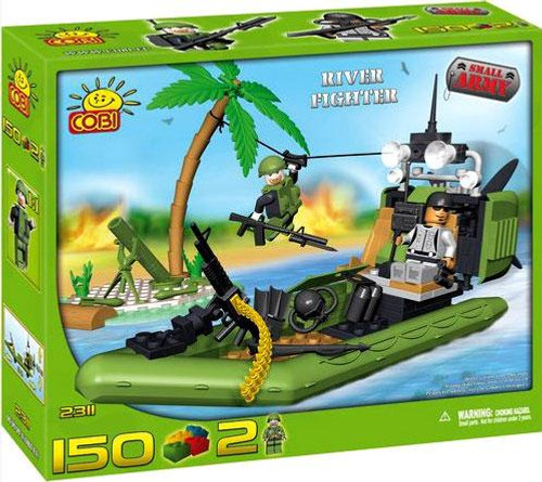 COBI Blocks Small Army River Fighter Set #2311