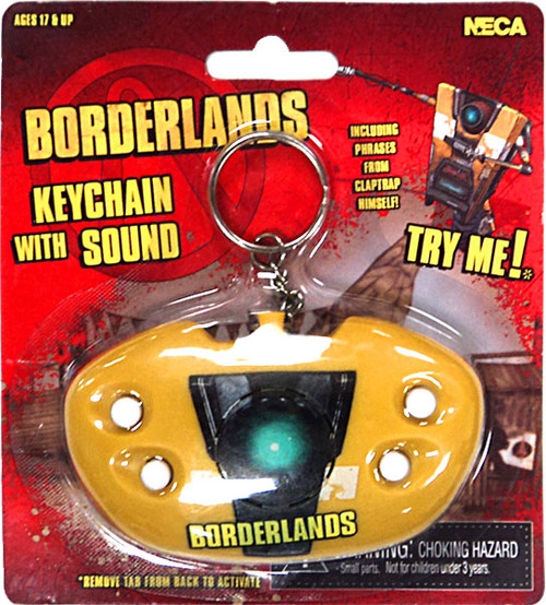 NECA Borderlands Keychain