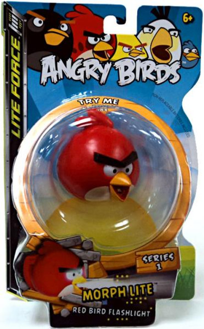 Angry Birds Lite Force Morph Lite Series 1 Red Bird Flashlight