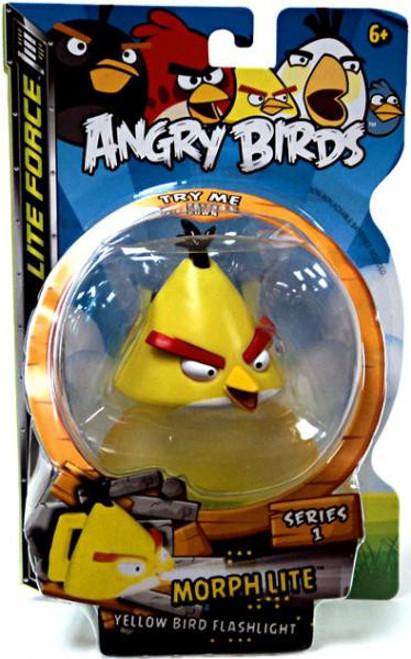 Angry Birds Lite Force Morph Lite Series 1 Yellow Bird Flashlight