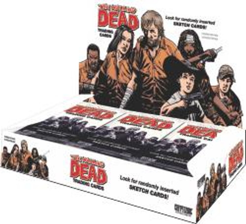 Walking Dead Comic Book Series 1 Trading Card Box