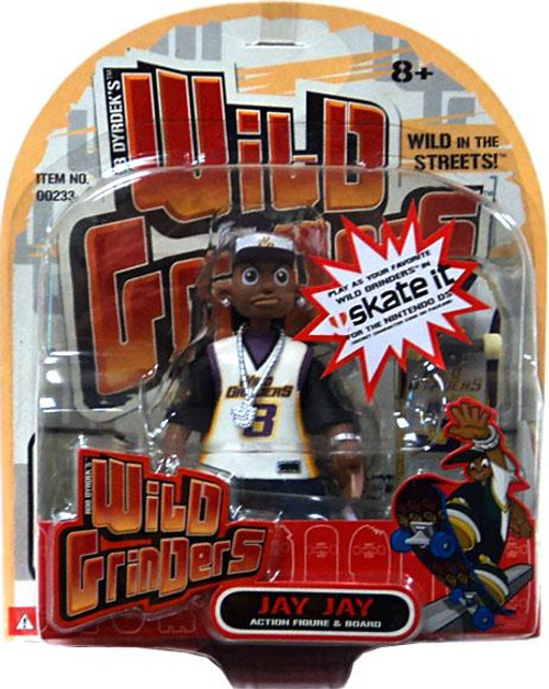 Wild Grinders Jay Jay Action Figure