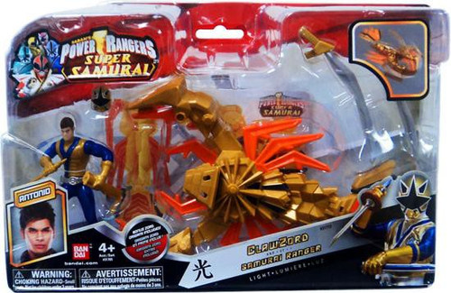Power Rangers Super Samurai ClawZord & Samurai Ranger Antonio Action Figure [Light]