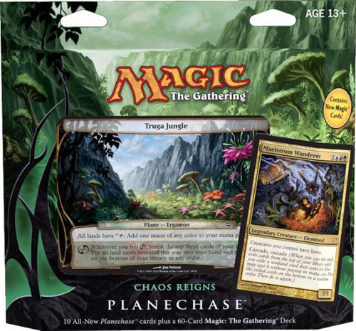 MtG Planechase 2012 Chaos Reigns Deck [Sealed Deck]