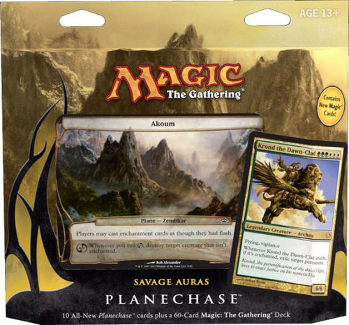 MtG Planechase 2012 Savage Auras Deck [Sealed Deck]