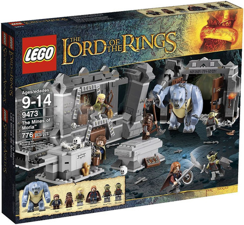 LEGO The Lord of the Rings THe Mines of Moria Set #9473