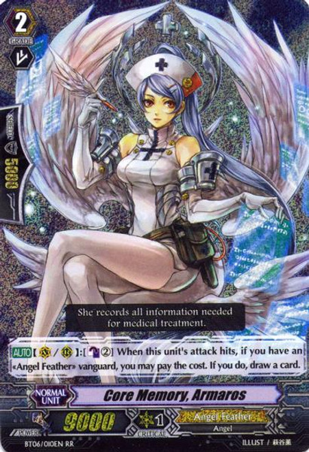 Cardfight Vanguard Breaker of Limits RR Rare Core Memory, Almaros BT06/010