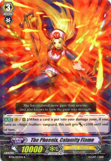 Cardfight Vanguard Breaker of Limits Rare Immortal Bird, Calamity Flame BT06/023
