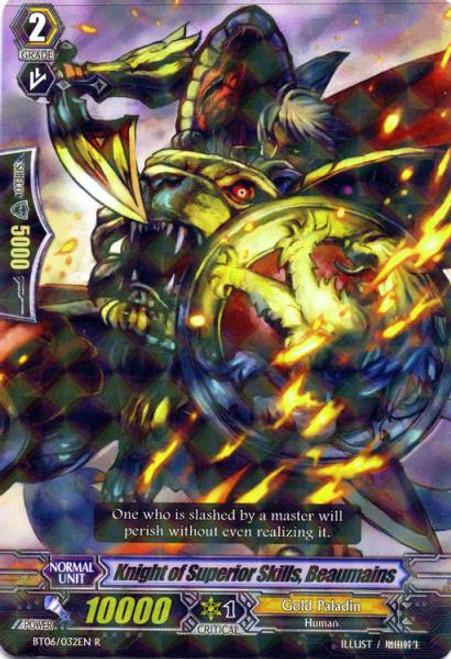 Cardfight Vanguard Breaker of Limits Rare Knight of Godly Skills, Borman BT06/032