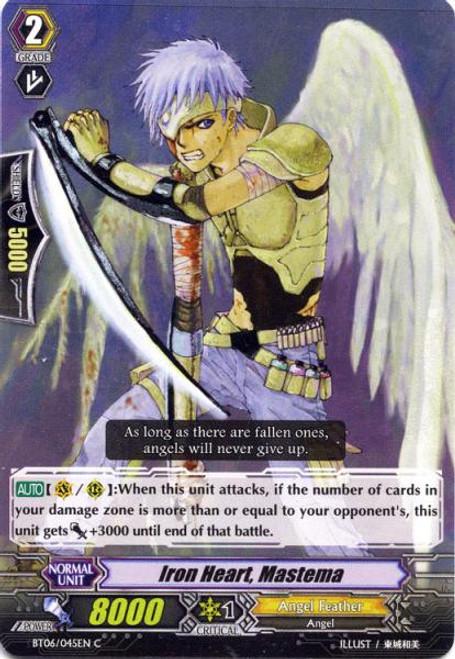 Cardfight Vanguard Breaker of Limits Common Ironheart, Mastema BT06/045