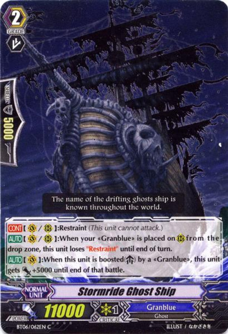 Cardfight Vanguard Breaker of Limits Common Stormride Ghost Ship BT06/062