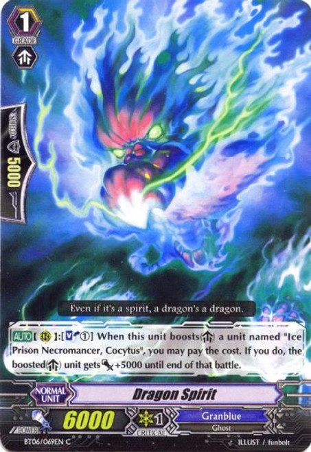 Cardfight Vanguard Breaker of Limits Common Dragon Spirit BT06/069