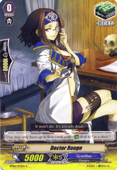 Cardfight Vanguard Breaker of Limits Common Doctor Rouge BT06/075