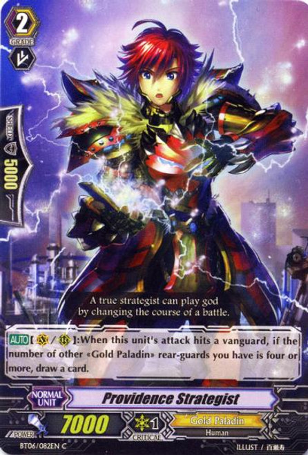 Cardfight Vanguard Breaker of Limits Common Providence Strategist BT06/082