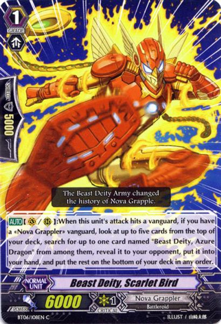 Cardfight Vanguard Breaker of Limits Common Beast God, Vermillion Bird BT06/108