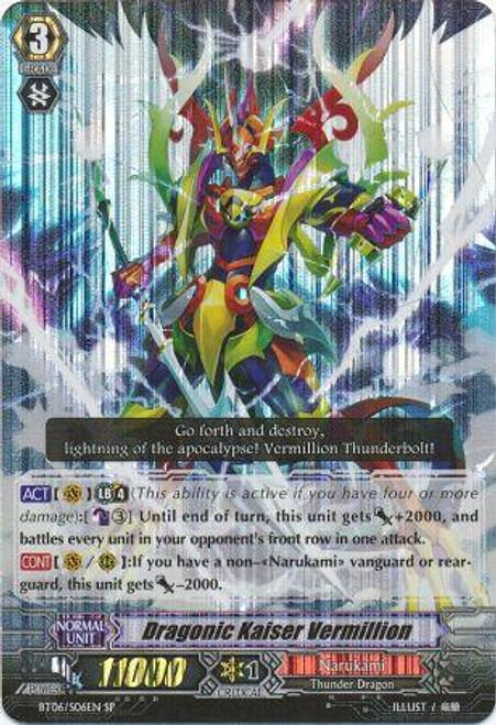 Cardfight Vanguard Breaker of Limits SP Draconic Kaiser Vermillion BT06/S06