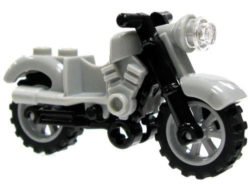 LEGO Marvel Super Heroes Gray Light Motorcyle Loose Vehicle #2 [Loose]