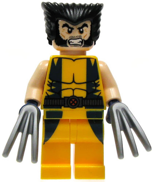 LEGO Marvel Super Heroes Loose Wolverine Minifigure [Loose]