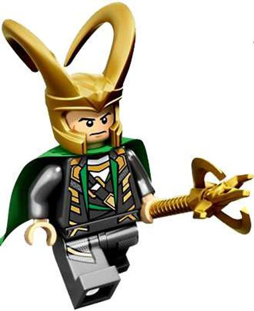LEGO Marvel Super Heroes Loose Loki Minifigure [Loose]