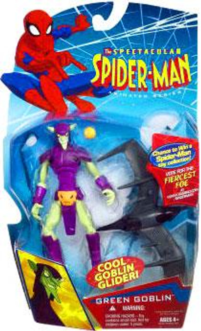 The Spectacular Spider-Man Animated Series Green Goblin Action Figure