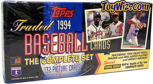 MLB 1994 Topps Baseball Cards Complete Set [Factory Sealed]