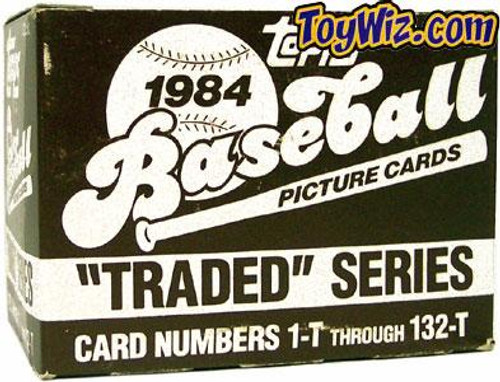 MLB 1984 Topps Baseball Cards 1984 Topps Traded Factory Set