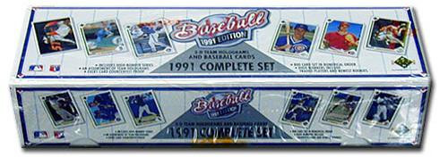 MLB 1991 Upper Deck Baseball Cards Complete Set [Factory Sealed]
