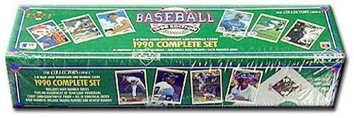 MLB 1990 Upper Deck Baseball Cards Complete Set [Factory Sealed]