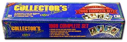 MLB 1989 Upper Deck Baseball Cards Complete Set [Factory Sealed]